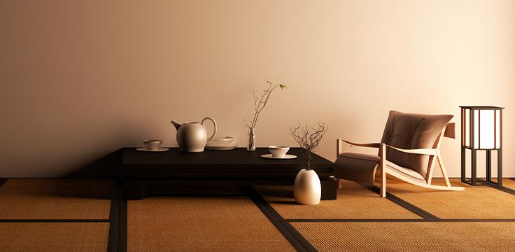 interno di casa giapponese