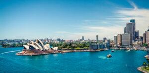 Veduta aerea di Sidney
