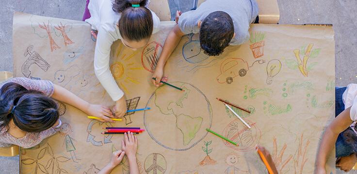 Attività per bambini sulla sostenibilità ambientale
